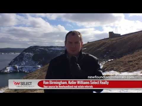 Ron Birmingham, Keller Williams Realty: Getting to Know Newfoundland - The History of Signal Hill