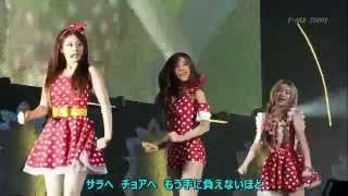 t ara ウェイロニ why are you being like this japanese ver live mix 日本語歌詞