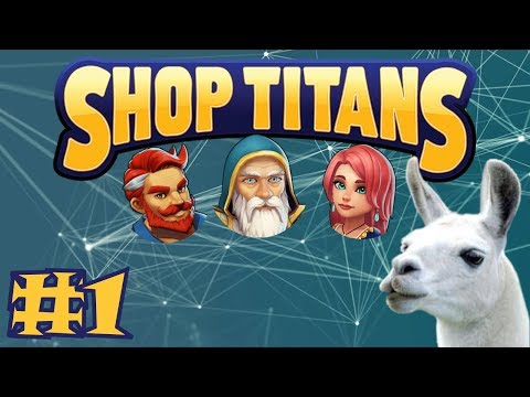 Shop Titans Gameplay #1 - First Look!