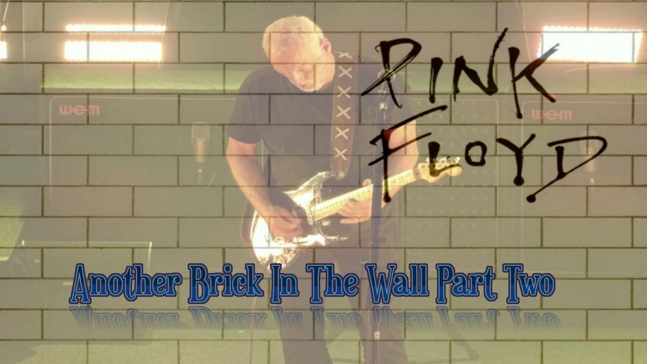 Pink Floyd Another Brick In The Wall Part Two Lyrics Youtube