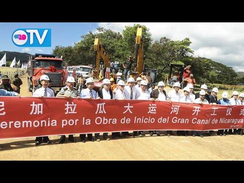 INICIAN OBRAS DEL GRAN CANAL DE NICARAGUA (NOTICIERO 19 TV LUNES 22 DE DICIEMBRE)