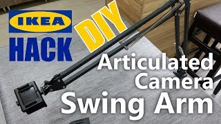 Articulated Camera Swing Arm - IKEA Hack //How To