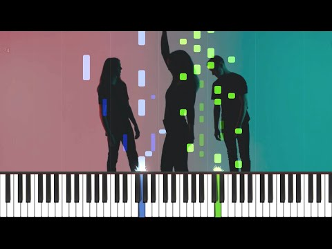 SHAED - Trampoline (Piano Tutorial) + SHEET MUSIC