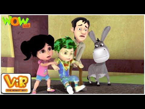 Powerless Vir | Vir: The Robot Boy WITH ENGLISH, SPANISH & FRENCH SUBTITLES | WowKidz