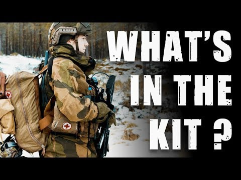 What S In The Backpack Of A Norwegian Army Medic Youtube