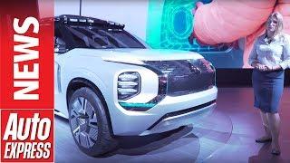 Mitsubishi Engelberg Tourer concept maps the brand's plug-in future