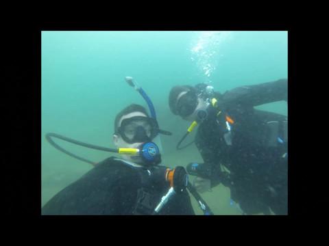 Panama City, FL Bay Dive Underwater Adventures April 29, 2017