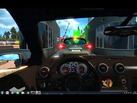 Euro Truck Simulator Gameplay #2 Audi A3 300 kph