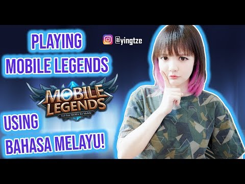 Speaking In Bahasa Malaysia   MOBILE LEGENDS GAMEPLAY