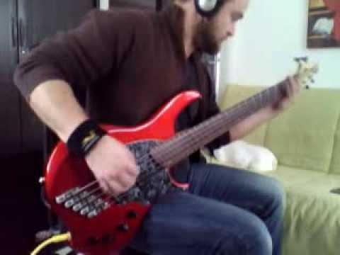 Rose Of Sharyn (Live) | Killswitch Engage Bass Cover | Dingwall Combustion 5