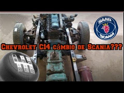 Chevrolet C10 câmbio de  Scania 111s CTGM tractors !!! C14 parte 2