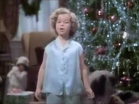 Shirley Temple That's What I want For Christmas From Stowaway 1936
