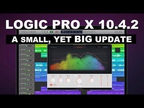 Logic Pro X 10.4.2 | What's New?