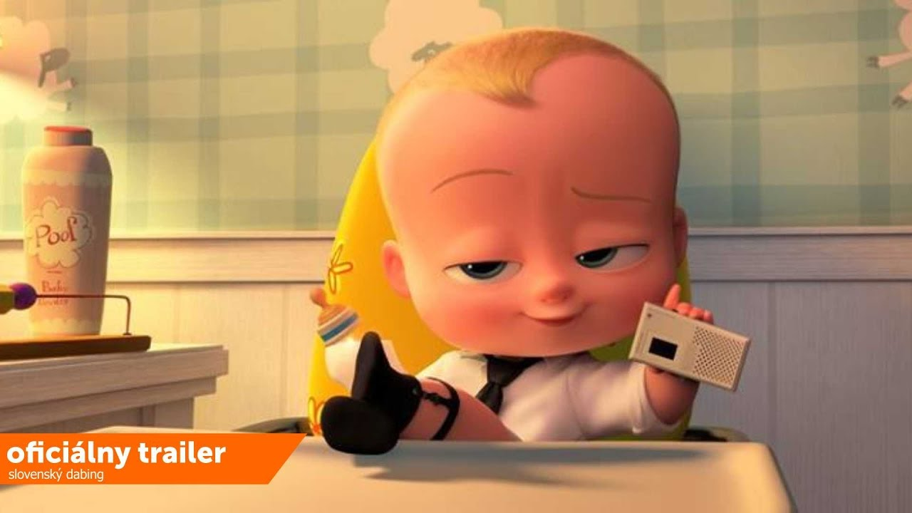 Baby šéf (The Boss Baby) oficiálny trailer sk dabing