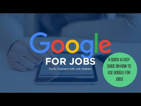 A Quick & Easy Guide on How to Use Google For Jobs!