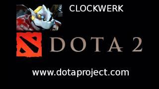 видео Rattletrap  - Clockwerk Goblin (Клокверк (Механический гоблин)) - Гайд Dota 6.83c