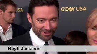 2016 G'Day USA Gala Australia with Hugh Jackman, Toni Collette, Rachel Griffiths, and many more