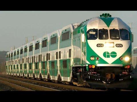 Go Train Toronto - Exhibition Station to Union Station