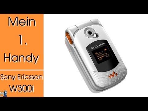 Mein 1. Handy - Sony Ericsson W300i