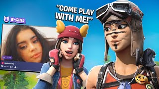 I hired Gamer Egirls to play with me on Fortnite...