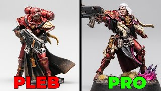 How to Paint Your Warhammer 40k Characters