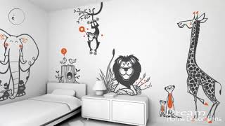 Home Decoration Styles for Modern Homes Easy Home decor   diy wall stencils ideas