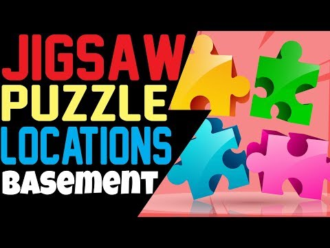 Fortnite SEARCH JIGSAW PUZZLE PIECES IN BASEMENTS LOCATIONS Week 10 Challenges