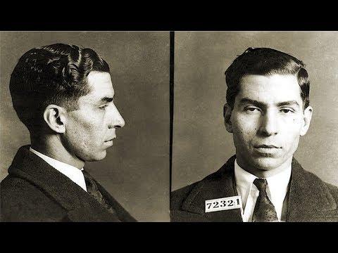 Charle Lucky Luciano.  Italian - American Crime Boss