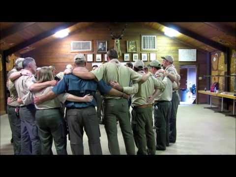 Wood Badge Song - Back to Gilwell (SHAC 12-4 Staff)
