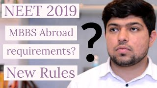 Eligibility Criteria for MBBS Abroad 2019 | Russiafeels