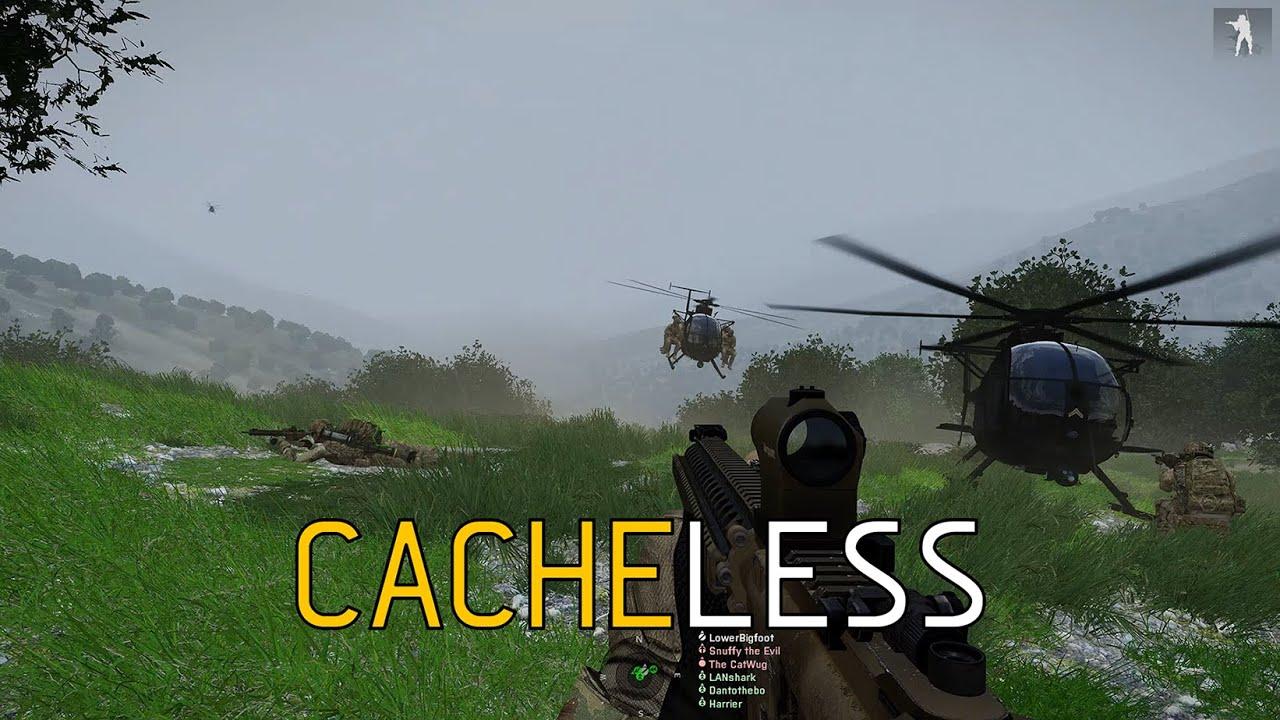 Cacheless - ShackTac