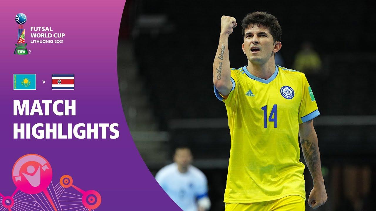 Kazakhstan v Costa Rica   FIFA Futsal World Cup 2021   Match Highlights