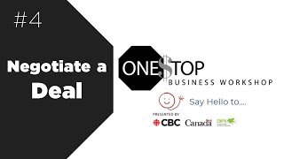 How to negotiate a development deal | One Stop Business Workshop