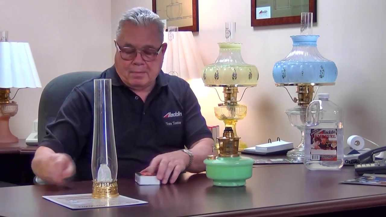 How To Light Your Aladdin Lamp Aladdin Mantle Lamp
