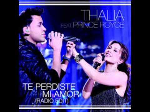 Thalia Ft. Prince Royce - Te perdiste en mi amor
