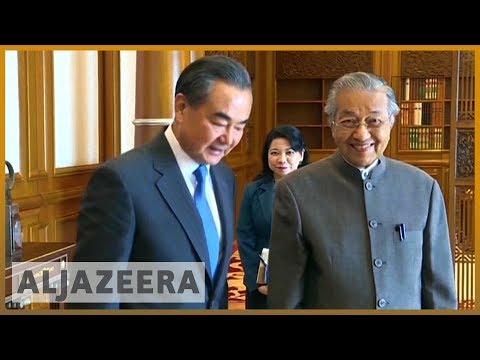 🇲🇾 Malaysia's PM Mahathir Mohamad in China for bilateral talks | Al Jazeera English