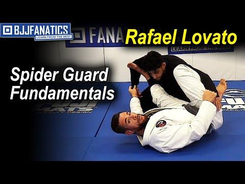 Spider Guard Fundamentals by Rafael Lovato Jr.