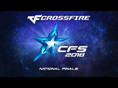 CrossFire Stars 2018 National Finals Play-off
