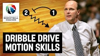 Dribble Drive Motion Skills - Vance Walberg - Basketball Fundamentals