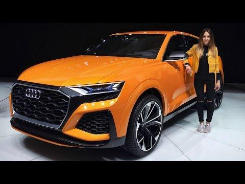 Audi Q8 ВСЕ БЛИЖЕ! Смотрим Audi Q8 Sport Concept, а также RS 5 Coupe и SQ5