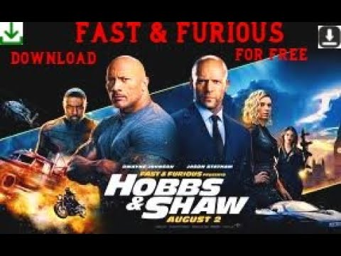 Download 🔥 TOP WEBSITE TO DOWNLOAD Fast and Furious 9 and  Hobbs And Shaw 🔥 || Free movies download on pc