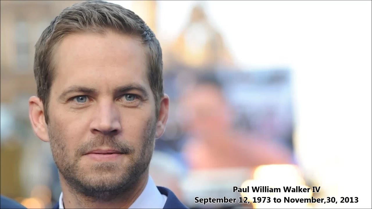 Paul Walker If I Died In A Car Accident