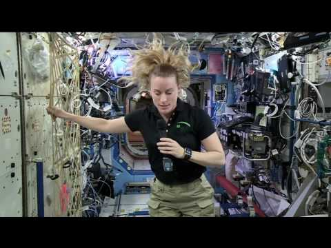 "Space Station Crew Member Discusses Life in Space with NBC's ""Meet the Press"""