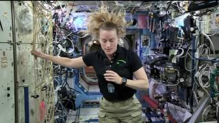 Space Station Crew Member Discusses Life in Space with NBC