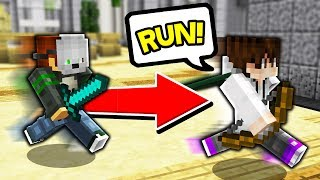 When the MURDERER has OVER 25,000 WINS... (Minecraft Murder Mystery)