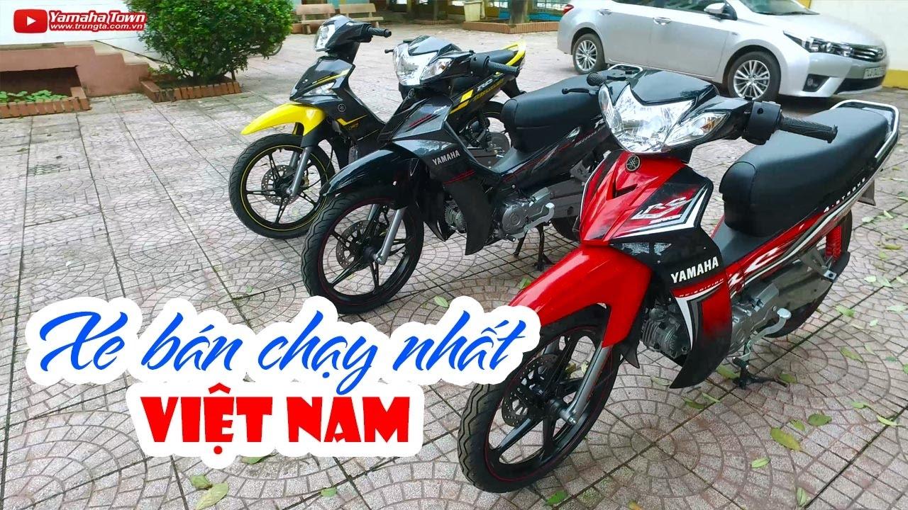 Yamaha Sirius RC 2017 vs Sirius Fi RC ▶ Bộ 3 xe số bán chạy nhất Việt Nam