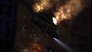 RESIDENT EVIL 6 leon and helena helicopter crash death