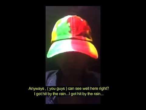 Kwon Ji Yong a.k.a G Dragon INSTAGRAM LIVE  FULL English Subtitle