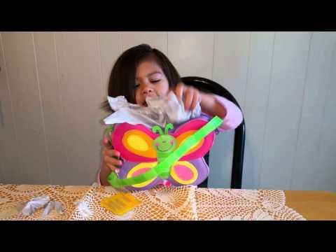 Stephen Joseph GO GO Butterfly Purse Video Review
