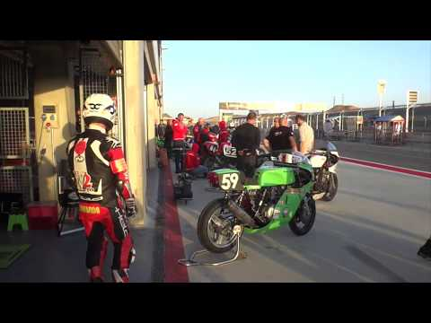 2017 Mike 'Spike' Edwards rides Classic Endurance Aragon with Alf's Motorcycles